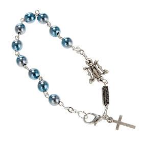 Ghirelli single-decade bracelet, Bohemia glass, Marian s1