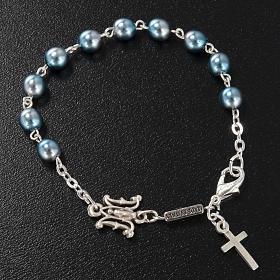 Ghirelli single-decade bracelet, Bohemia glass, Marian s2