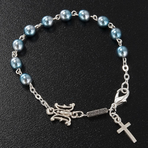 Ghirelli single-decade bracelet, Bohemia glass, Marian 2
