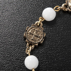 Ghirelli prayer bracelet Saint Benedict, glass s4