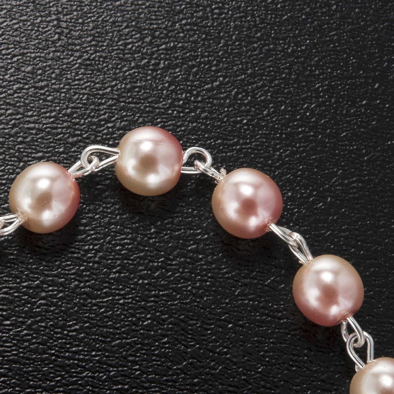 Ghirelli bracelet in pink Bohemia glass 4