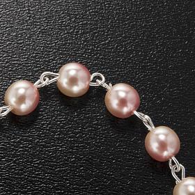 Ghirelli bracelet in pink Bohemia glass s4