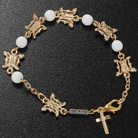 Ghirelli bracelet in Marian white glass s2