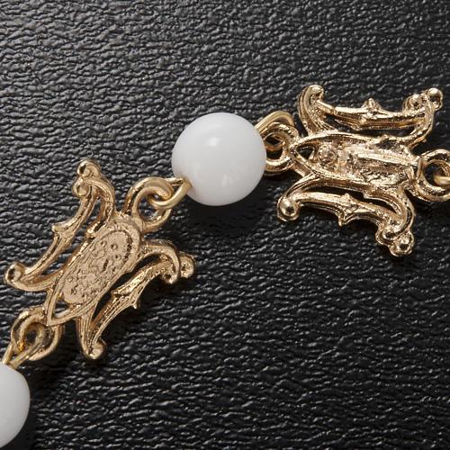 Ghirelli bracelet in Marian white glass 4