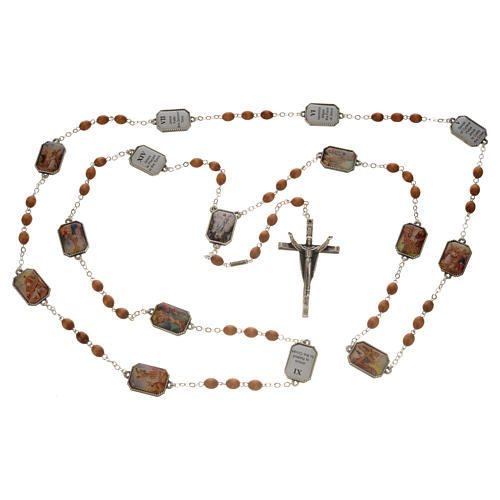 Ghirelli chaplet, Way of the Cross 15 stations 10