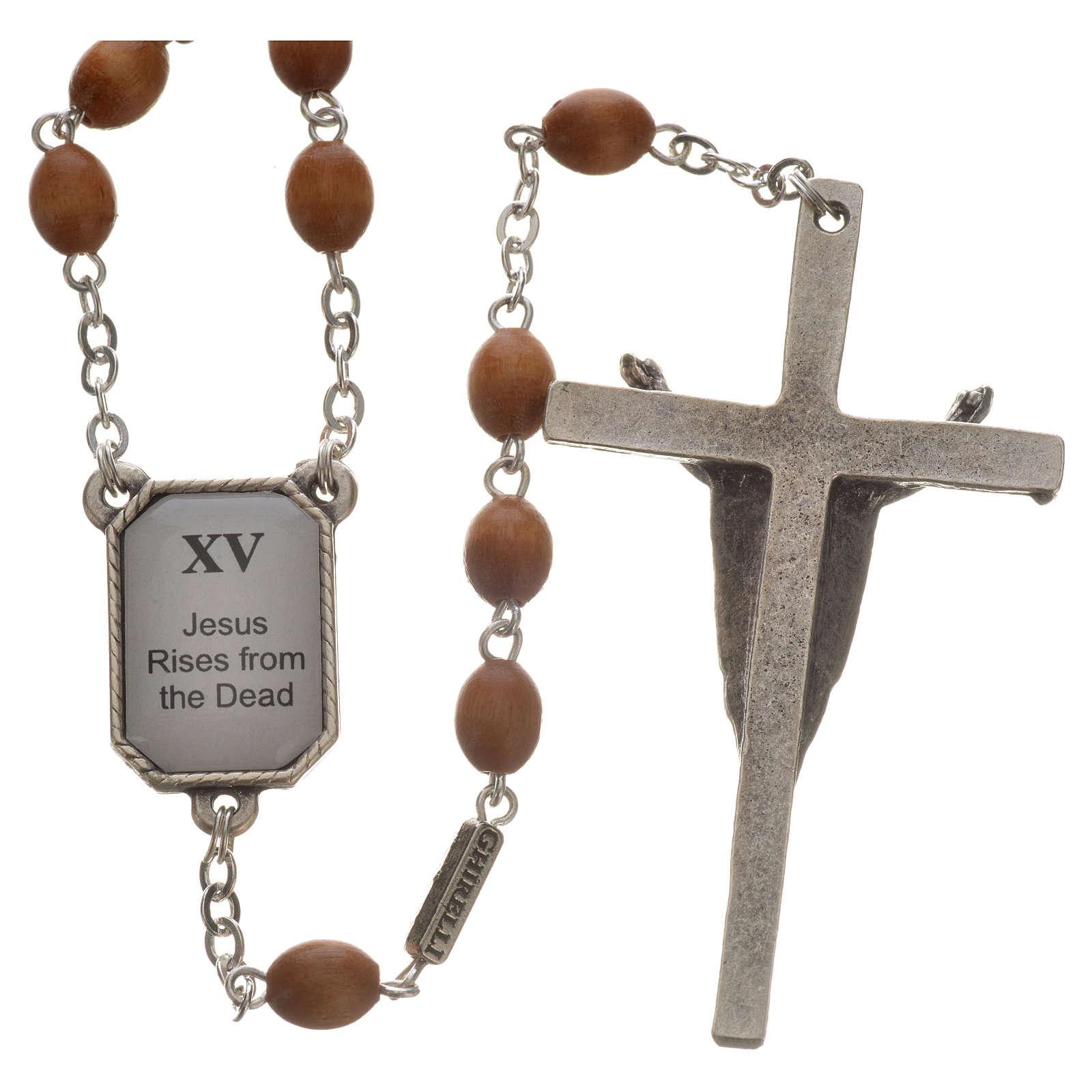 Coronilla Ghirelli Vía Crucis 15 estaciones 4