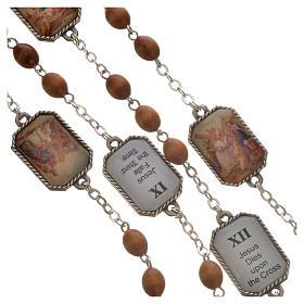 Coronilla Ghirelli Vía Crucis 15 estaciones s9