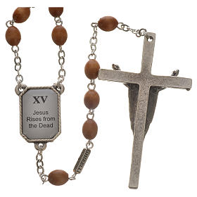 Coronilla Ghirelli Vía Crucis 15 estaciones s2