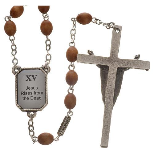 Coronilla Ghirelli Vía Crucis 15 estaciones 2