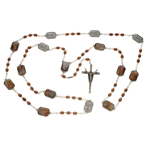 Coronilla Ghirelli Vía Crucis 15 estaciones 5
