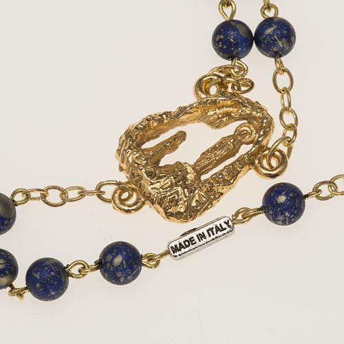 Ghirelli rosary with Lourdes grotto 6mm 6