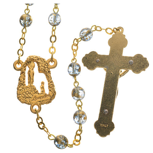 Ghirelli rosary with Lourdes grotto 6mm 11