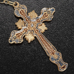 Ghirelli rosary Immaculate Conception, yellow-gold 8 mm s8