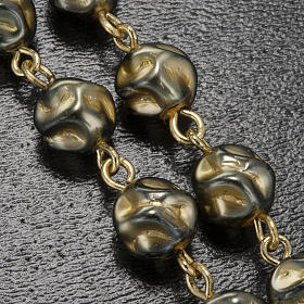 Ghirelli rosary Immaculate Conception, yellow-gold 8 mm s9