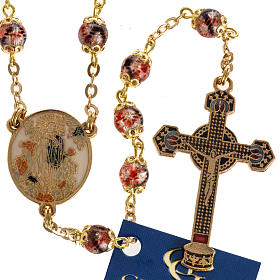 Ghirelli multicolored rosary with Our Lady  6mm s1