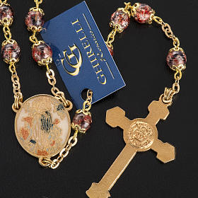 Ghirelli multicolored rosary with Our Lady  6mm s4