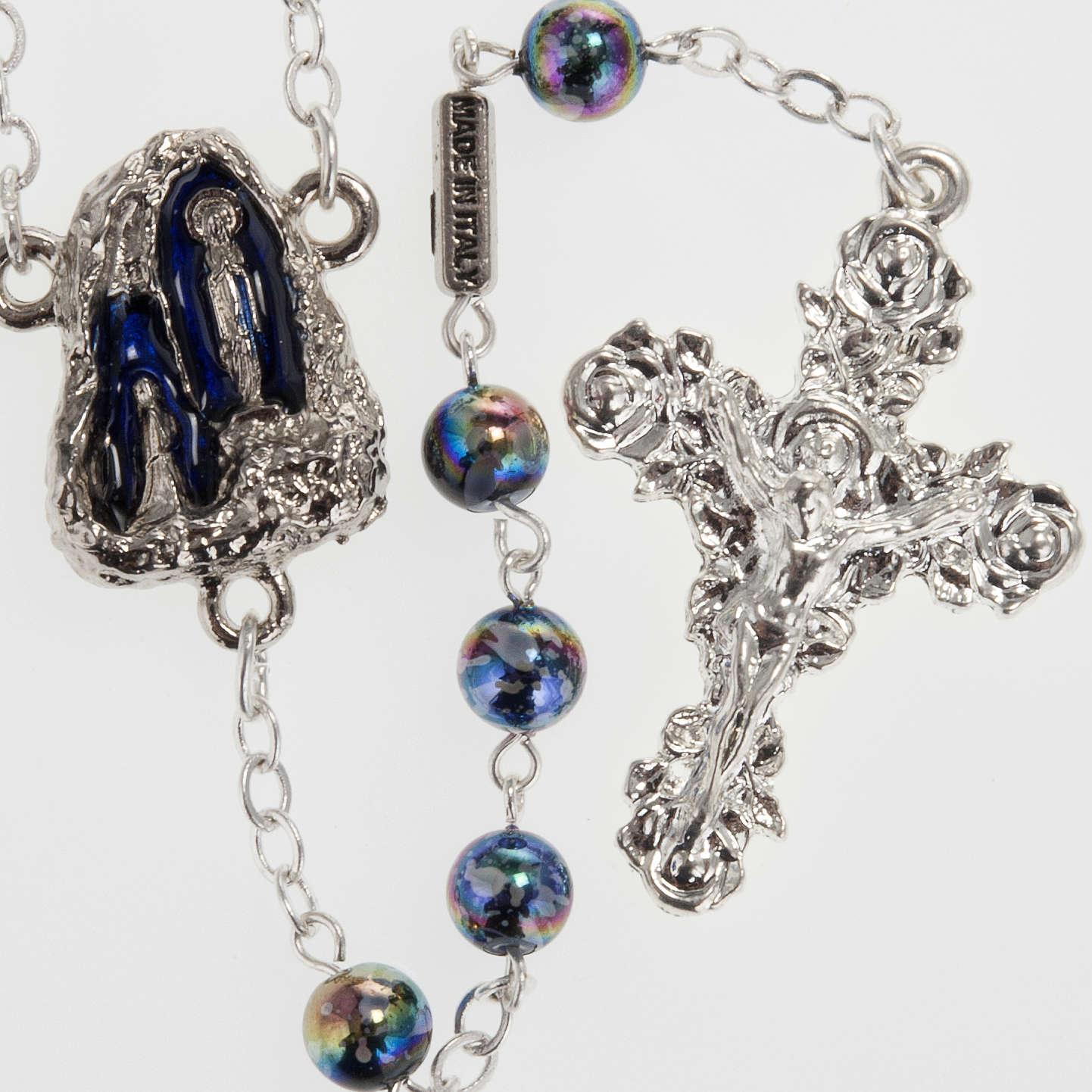 Ghirelli rosary Lourdes Grotto, Aurora 6 mm 4