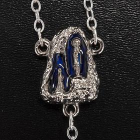 Ghirelli rosary Lourdes Grotto, Aurora 6 mm s3