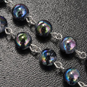 Ghirelli rosary Lourdes Grotto, Aurora 6 mm s5