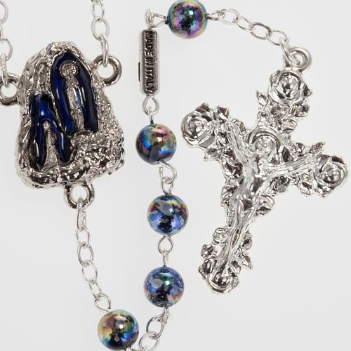 Ghirelli rosary Lourdes Grotto, Aurora 6 mm 1