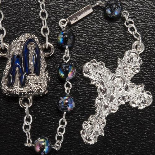 Ghirelli rosary Lourdes Grotto, Aurora 6 mm 2