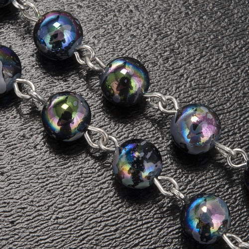 Ghirelli rosary Lourdes Grotto, Aurora 6 mm 5