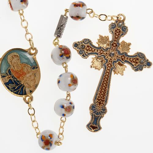 Chapelet Ghirelli Notre Dame avec enfant grains 7mm 1