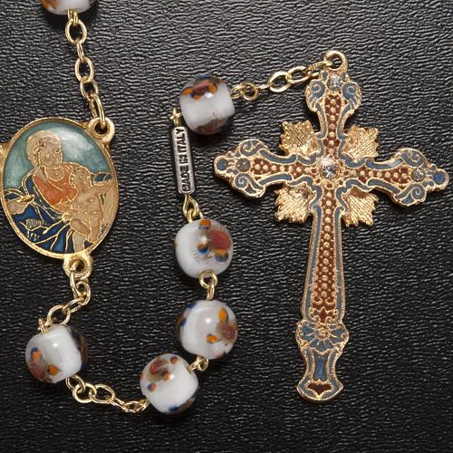 Chapelet Ghirelli Notre Dame avec enfant grains 7mm 2