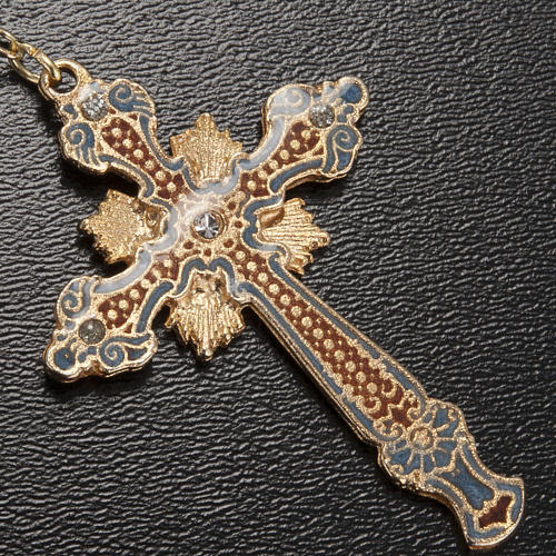 Chapelet Ghirelli Notre Dame avec enfant grains 7mm 4