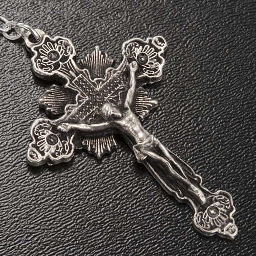 Chapelet Ghirelli Notre Dame de Fatima grain ovale 7x5mm 4