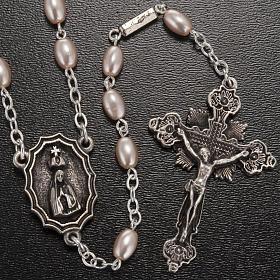 Rosario Ghirelli Madonna di Fatima grano ovale 7x5 mm s2