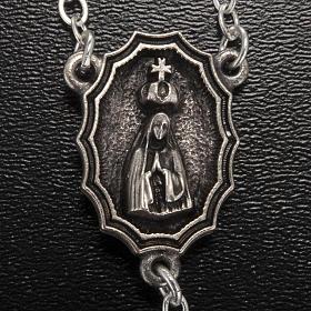 Rosario Ghirelli Madonna di Fatima grano ovale 7x5 mm s3