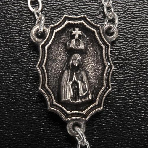 Rosario Ghirelli Madonna di Fatima grano ovale 7x5 mm 3