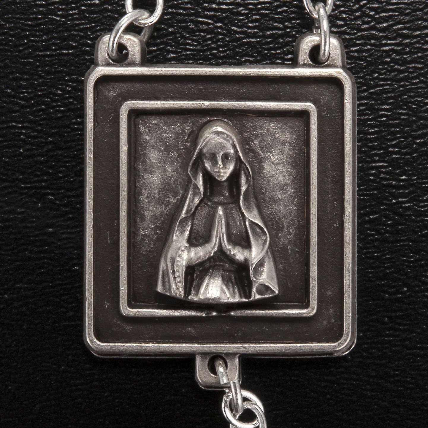 Rosario Ghirelli Nostra Signora di Lourdes 6 mm nero 4