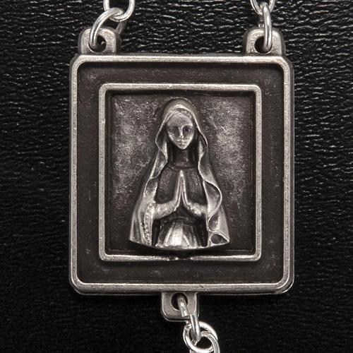 Rosario Ghirelli Nostra Signora di Lourdes 6 mm nero 3