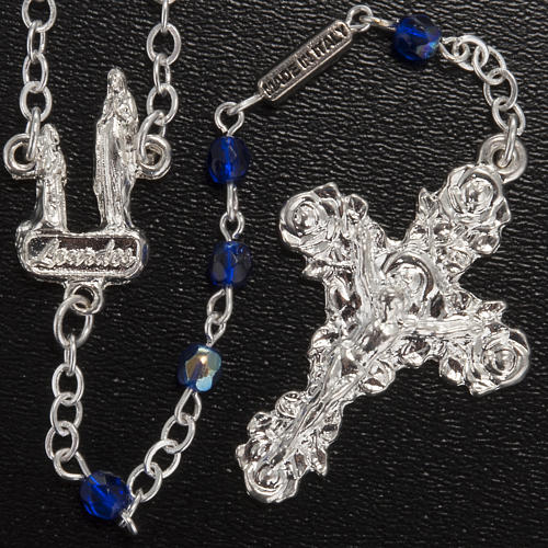 Rosario Ghirelli Lourdes blu 3 mm 2