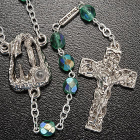 Ghirelli emerald rosary Lourdes Grotto 6mm s2