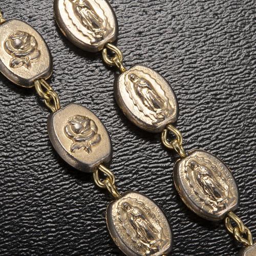 Chapelet Ghirelli doré Notre Dame de Guadalupe 9mm 5