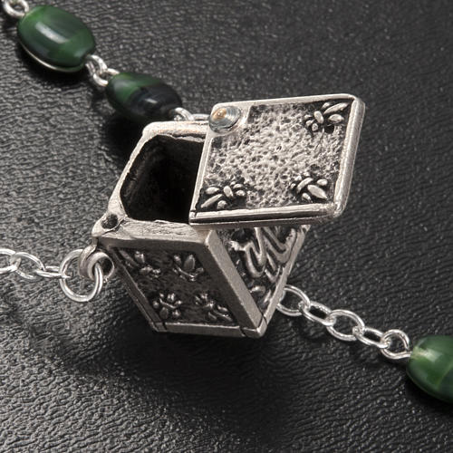 Rosario Ghirelli vetro verde crociera cubo apribile 3