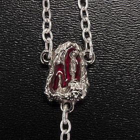 Ghirelli rosary Holy Lourdes Grotto, red s3