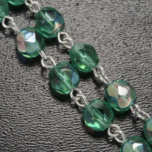 Rosario Ghirelli verde acqua crociera scatolina 6 mm 6