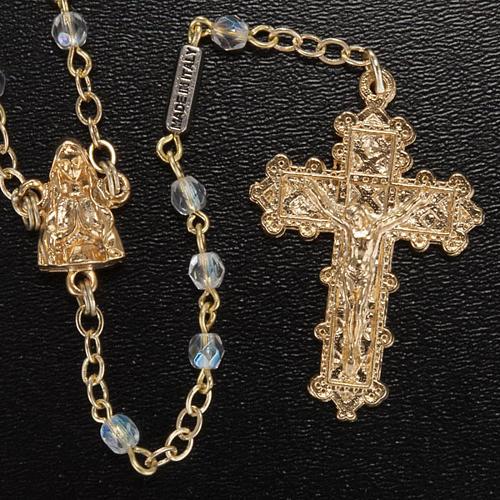 Ghirelli rosary, Lourdes grotto 4mm 2