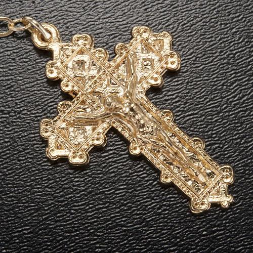 Ghirelli rosary, Lourdes grotto 4mm 4