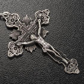 Chapelet Ghirelli noir coeur Lourdes 8 mm s4