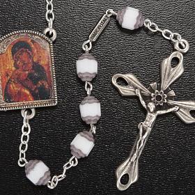 Rosario Ghirelli grano cortado ícono Madre de Dios Vladim s2