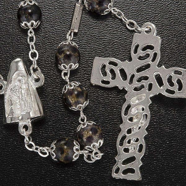 Chapelet Ghirelli Lourdes bigarré 8 mm 4