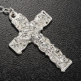 Ghirelli rosary Lourdes Grotto, light blue 6x4mm s4