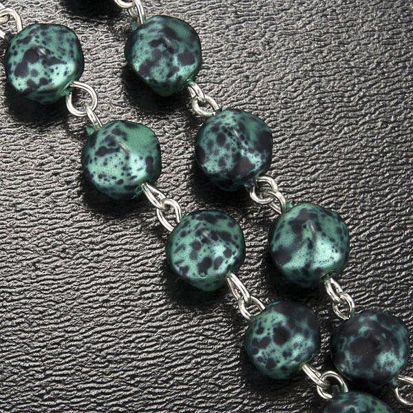 Ghirelli rosary, Our Lady of Fatima, metallic 7mm 4