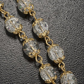 Rosario Ghirelli Lourdes coppiglie oro 6 mm s5