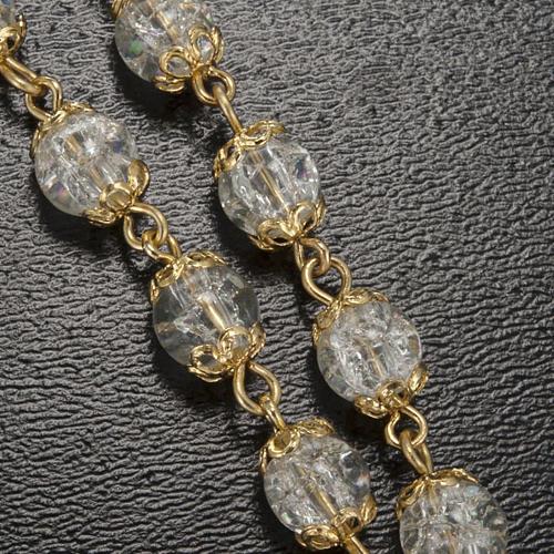 Rosario Ghirelli Lourdes coppiglie oro 6 mm 5